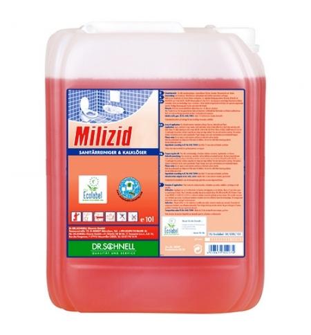 фото: Чистящее средство для сантехники Dr.Schnell Milizid 10л, для санитарных зон, 143388