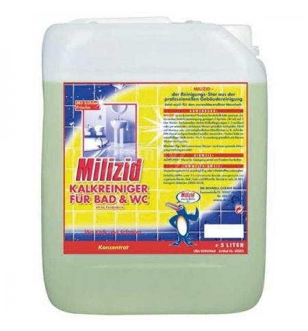 фото: Чистящее средство для сантехники Dr.Schnell Milizid 5л, для санитарных зон, 30005, 144184