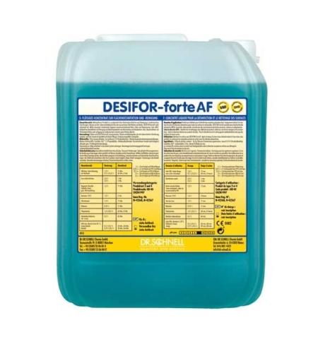 фото: Чистящий концентрат для полов Dr.Schnell Desifor Forte AF 5л, для водостойких поверхностей, 20542, 1