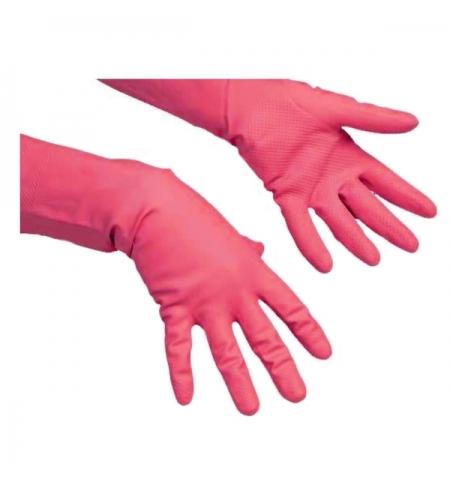 фото: Перчатки резиновые Vileda Professional многоцелевые XL, красные, 102589