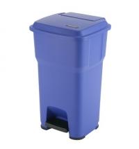 Контейнер для подгузников Vileda Professional Гера 60л, с педалью и крышкой, синий, 137753