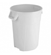 Контейнер-бак для мусора Vileda Professional Титан 120л, белый, 137788