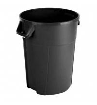 Контейнер-бак для мусора Vileda Professional Титан 120л, черный, 137783