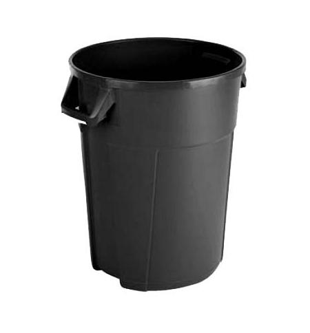 фото: Контейнер-бак для мусора Vileda Professional Титан 120л, черный, 137783