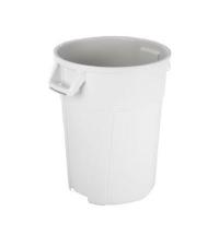 Контейнер-бак для мусора Vileda Professional Титан 85л, белый, 137776