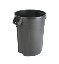 Контейнер-бак для мусора Vileda Professional Титан 85л, черный, 137771