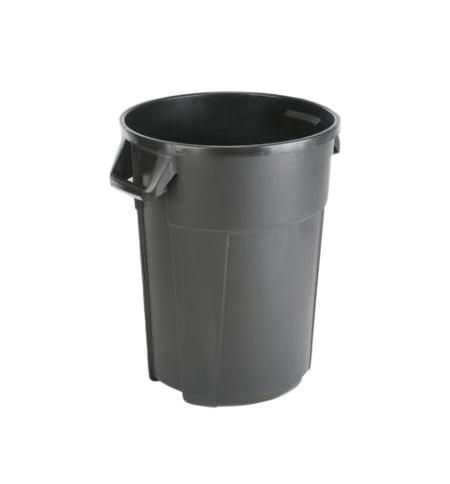 фото: Контейнер-бак для мусора Vileda Professional Титан 85л, черный, 137771