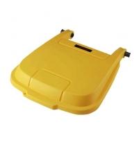 Крышка для контейнера Vileda Professional Атлас 100л, желтая, 137768