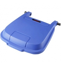 Крышка для контейнера Vileda Professional Атлас 100л, синяя, 137770