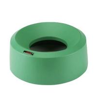 Крышка для контейнера Vileda Professional Ирис 50л, воронкообразная, круглая, зеленая, 137739