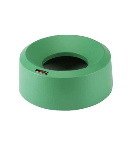 фото: Крышка для контейнера Vileda Professional Ирис 50л, воронкообразная, круглая, зеленая, 137739