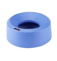 Крышка для контейнера Vileda Professional Ирис 50л, воронкообразная, круглая, синяя, 137737