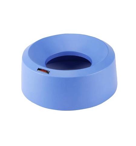 фото: Крышка для контейнера Vileda Professional Ирис 50л, воронкообразная, круглая, синяя, 137737