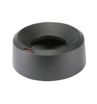 Крышка для контейнера Vileda Professional Ирис 50л, воронкообразная, круглая, черная, 137736