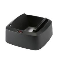 Крышка для контейнера Vileda Professional Ирис 60л, маятник, прямоугольная, черная, 137744
