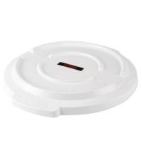 Крышка для контейнера Vileda Professional Титан 120л, белая, 137794