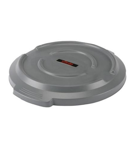 фото: Крышка для контейнера Vileda Professional Титан 120л, серая, 137791