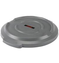 Крышка для контейнера Vileda Professional Титан 85л, серая, 137779