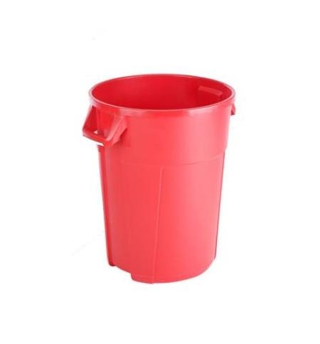 фото: Мусорный бак Vileda Professional Титан красный, 85л, 137707/137775