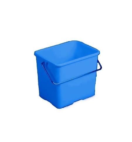 фото: Ведро Vileda Professional 6л, прямоугольное, голубое, 500430