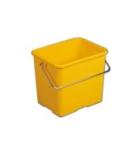 Ведро Vileda Professional 6л, прямоугольное, желтое, 500433