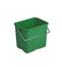 Ведро Vileda Professional 6л, прямоугольное, зеленое, 500432