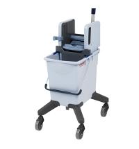 фото: Одноведерная система с вертикальным отжимом Vileda Professional 25л, на колесах, без ручки, 516546