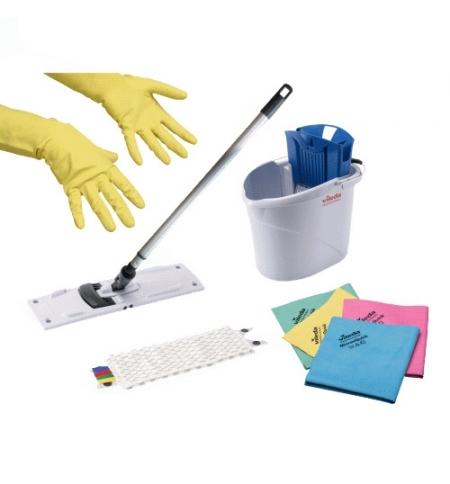 фото: Набор для уборки Vileda Professional УльтраСпид Мини Промо, стартовый, голубой, 161099