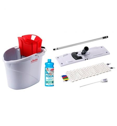 фото: Набор для уборки Vileda Professional УльтраСпид Мини, 10л, красный, 143567