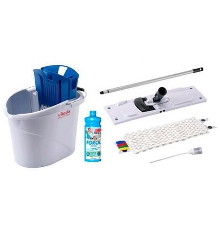 фото: Набор для уборки Vileda Professional УльтраСпид Мини, 10л, синий, 143566