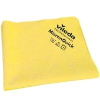 Салфетка хозяйственная Vileda Professional МикронКвик 38х40см, желтая, 152111