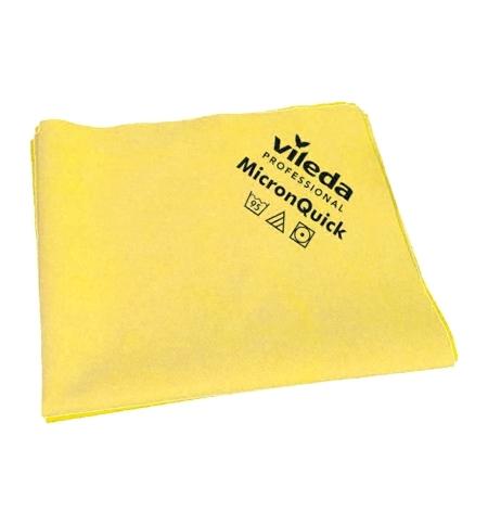 фото: Салфетка хозяйственная Vileda Professional МикронКвик 38х40см, желтая, 152111