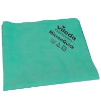 Салфетка хозяйственная Vileda Professional МикронКвик 38х40см, зеленая, 152112