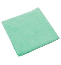 Салфетка хозяйственная Vileda Professional МикроТафф Бэйс 36х36см, зеленая, 145849