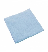 Салфетка хозяйственная Vileda Professional МикроТафф Плюс 38х38см, голубая, 111958