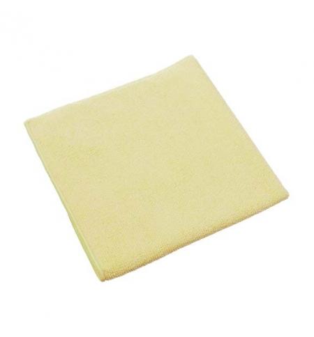 фото: Салфетка хозяйственная Vileda Professional МикроТафф Плюс 38х38см, желтая, 111961