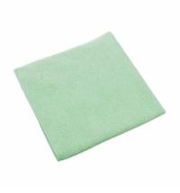 Салфетка хозяйственная Vileda Professional МикроТафф Плюс 38х38см, зеленая, 111960