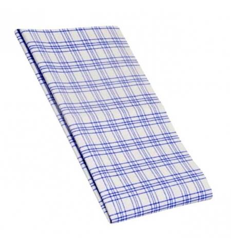 фото: Салфетка хозяйственная Vileda Professional ТиТауэл микро 40х60см, белая/синяя, 128425