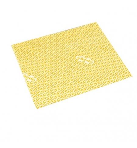 фото: Салфетка хозяйственная Vileda Professional ВайПро Антибак 36х42см, желтая, 137004