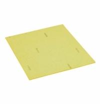 Салфетка хозяйственная Vileda Professional Веттекс Классик 17х20см, желтая, 111683