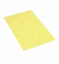 Салфетка хозяйственная Vileda Professional Веттекс Макси 26х31см, желтая, 111691