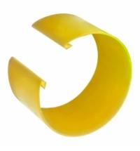 Кольцо цветовой кодировки Vileda Professional УльтраСпид для алюминиевой ручки, желтое, 509516