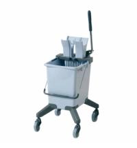 фото: Одноведерная система с отжимом Vileda Professional УльтраСпид Про, 25л, на колесах, без ручки, 14910
