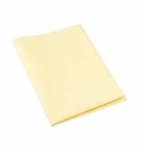 фото: Салфетка хозяйственная Vileda Professional МикроВиндоу желтая, 38х60см, полиэстер-полиамид, 127375