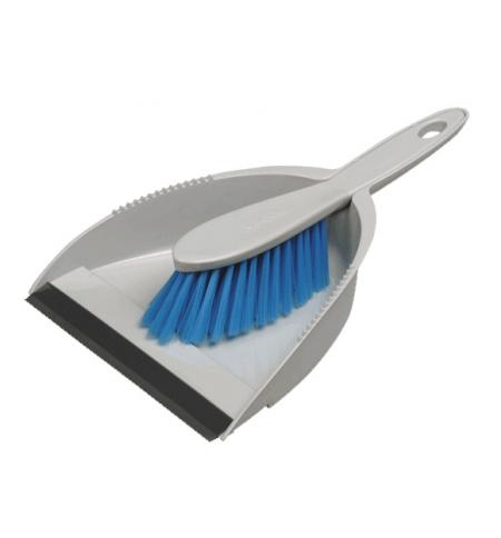 фото: Набор для уборки Vileda Professional 30см, ручная щетка, совок, 100833