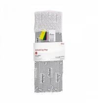 Насадка для швабры моп Vileda Professional Кентукки 78см, с серебром и цветной кодировкой, 161578