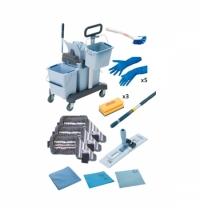 фото: Набор для уборки Vileda Professional УльтраСпид Про 1 Все включено, 166376