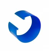 Кольцо цветовой кодировки Vileda Professional УльтраСпид голубое, для алюминиевой ручки, 509513