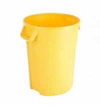 Контейнер-бак для мусора Vileda Professional Титан 120л, желтый, 137718