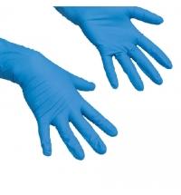 Перчатки резиновые Vileda Professional СуперТафф XL, синие, 100184/100775/8039